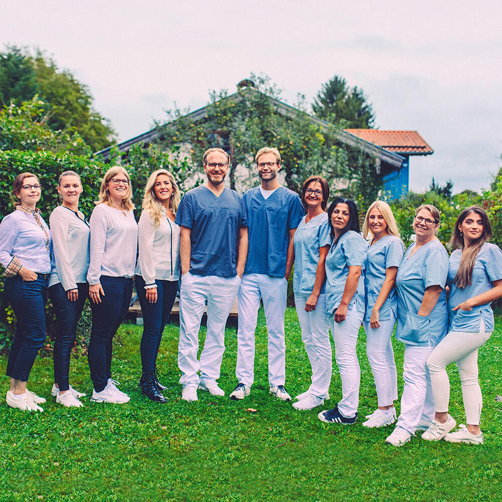 Praxisteam Zahnarzt Bernried